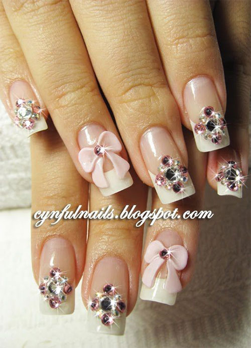 Nail Art Bow Choice Image - nail art and nail design