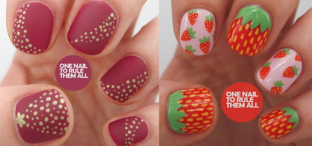 12 Simple Red Nail Art Designs Ideas Trends Stickers 2017 Fabulous