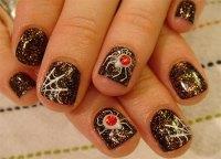 halloween fake nails designs