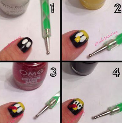 Image From Nailmagz Thanksgiving Nail Art