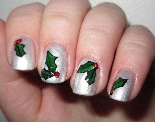 Christmas Nail Designs Acrylic Nails
