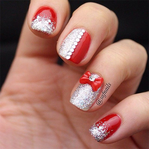 12 Christmas 3d Nail Art Designs Ideas Trends