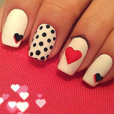 12 Best 3d Valentines Day Nail Art Designs