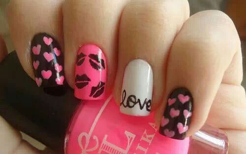 15 Cute Valentines Day I Love You Nail Art Designs Ideas Trends