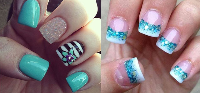 15 Cool Pretty Summer Acrylic Nail Art Designs Ideas Trends Stickers 2017 Fabulous