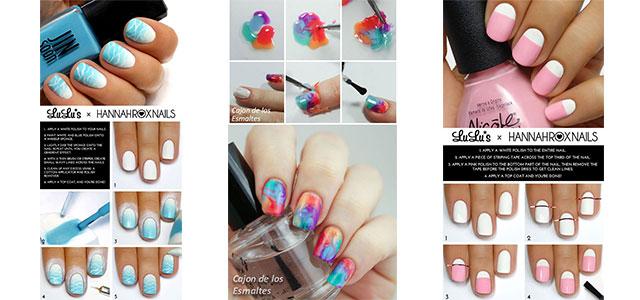 10 Easy Step By Minion Nail Art