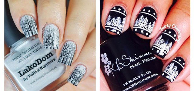 25 Winter Nail Art Designs Ideas Trends Stickers