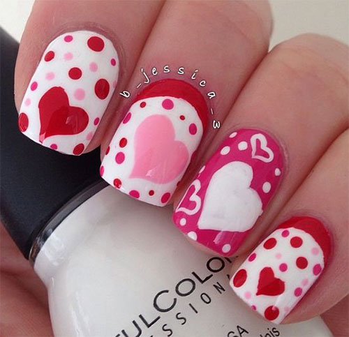 15 Amazing 3d Valentines Day Nail Art Designs