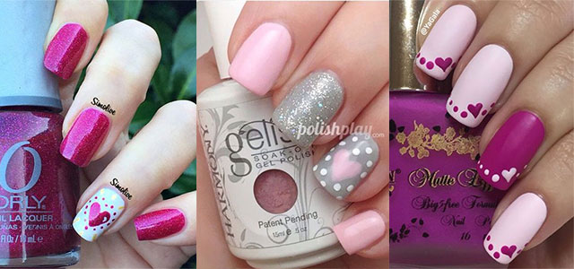 15 Easy Cute Valentine S Day Nail Art Designs Ideas 2017 Nails Fabulous