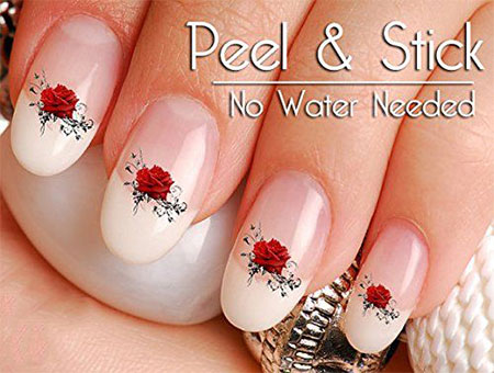 15 Amazing Valentine S Day Nail Art Stickers For 2017