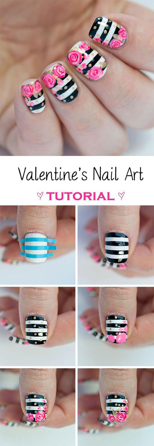 Valentine S Day Nail Art Ideas