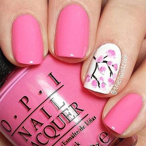 Simple Elegant Pretty Toe Nail Art Designs