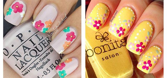 15 Simple Easy Spring Nail Art Designs Ideas