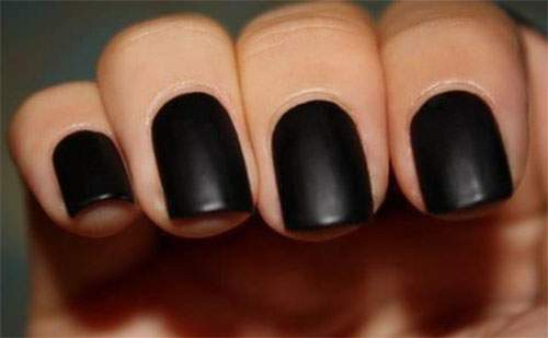 Nail Art Matte Black Top Reviewed Gel White With Design F