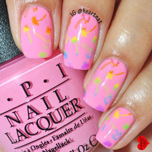 Cute Summer Nail Designs For Short Nails