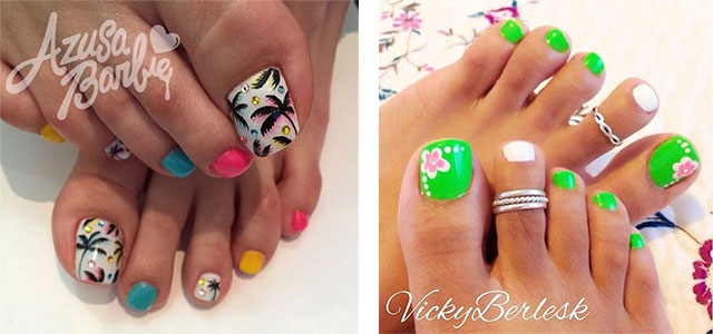 Fabulous Nail Art Designs Decor Your Nails Simple Summer Inspired Toe