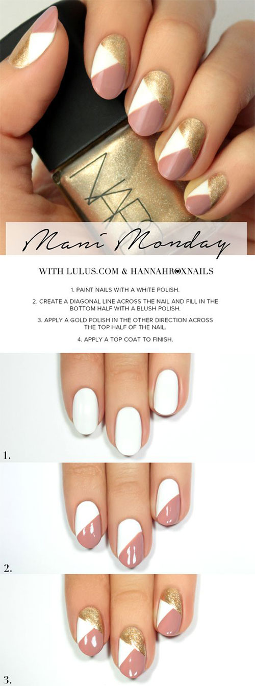 20 Easy Step By Summer Nail Art