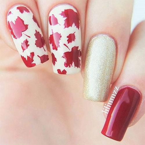 Autumn Nail Art 8