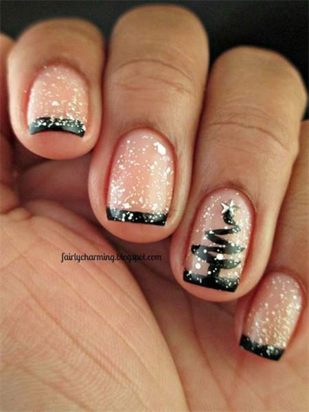 15 Christmas Gel Nails Art Designs Ideas 2017 Fabulous Nail