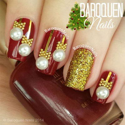 Cool 3d Acrylic Nails Designs For Christmas