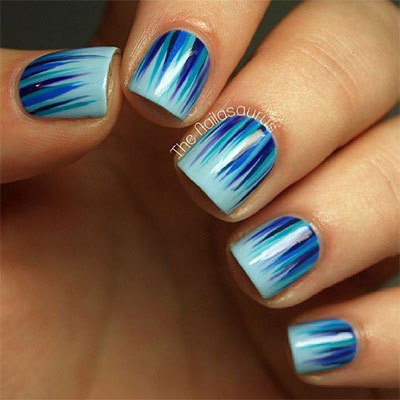 12 Winter Icicle Nail Art Designs Ideas 2017