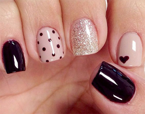 15 Easy Valentines Day Nail Art Designs Ideas