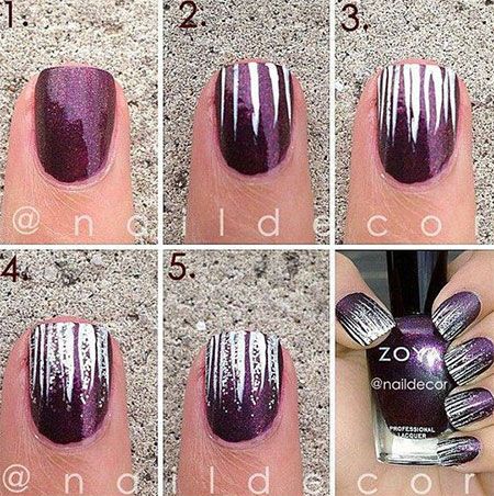 15 Step By Winter Nails Art Tutorials