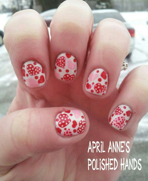Valentine Day Nail Art Design Via Bmodish