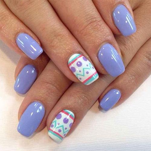 15 Easter Color Nail Art Designs Ideas 2017