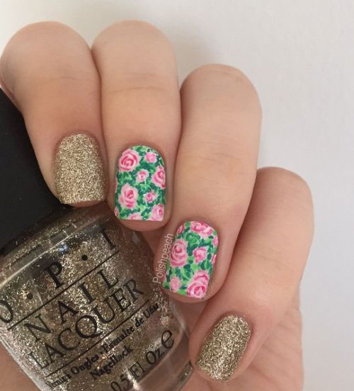Spring 2017 Nail Trends Prom Art Design