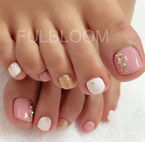15 Spring Toe Nails Art Designs Ideas 2017