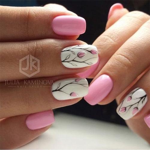 20 Simple Easy Spring Nails Art Designs Ideas