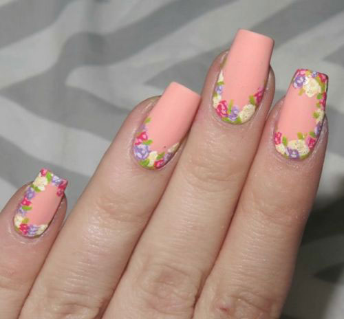 20 Simple Easy Spring Nails Art Designs Ideas