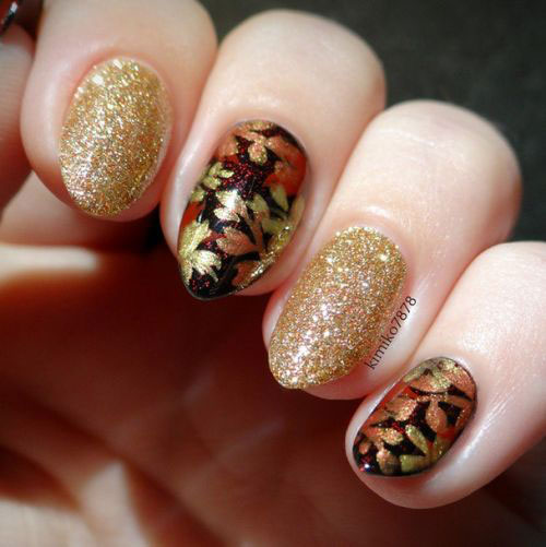 20 Best Autumn Nail Art Designs Ideas 2017