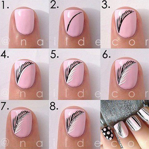 Autumn Nail Art Tutorials For Beginners 2017 3