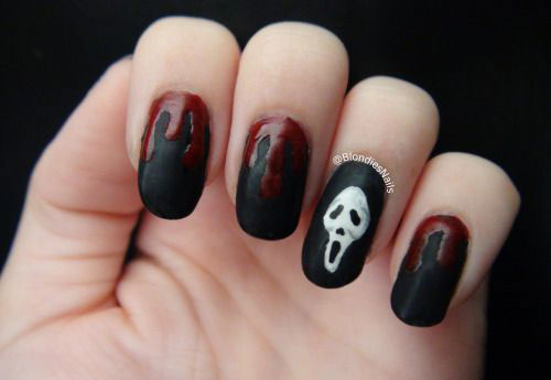15 Scary Halloween Nails Art Designs Amp Ideas 2017