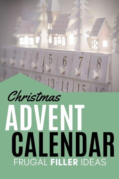 Christmas Advent Calendar - Frugal Filler Ideas