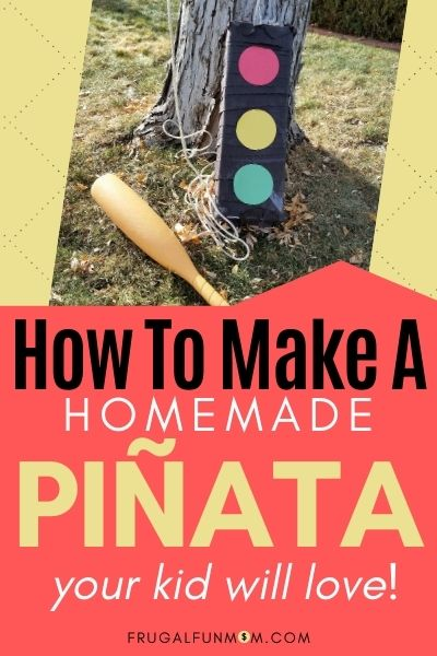How To Make a Homemade Pinata Your Kid Will Love | Frugal Fun Mom