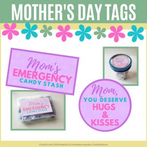 Mother's Day Gift Tags   Frugal Fun Mom