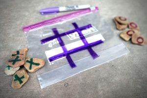Rock Tic Tac Toe For Kids | Frugal Fun Mom