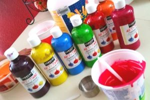 Tempura Paint | Frugal Fun Mom