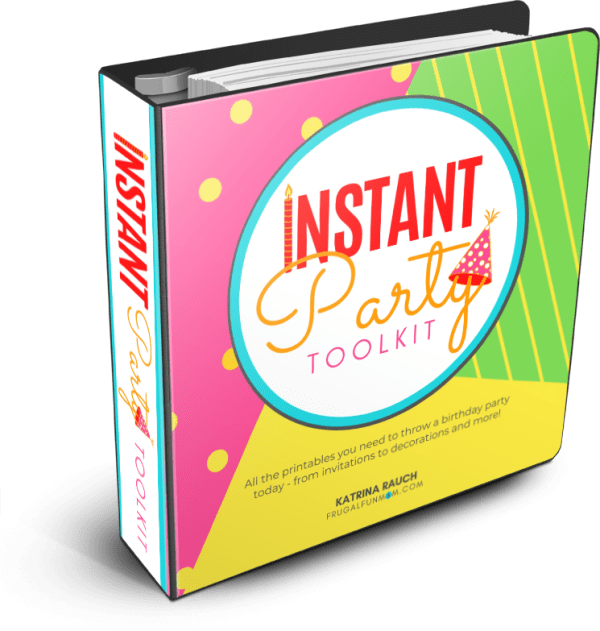 Instant Party Toolkit   Frugal Fun Mom
