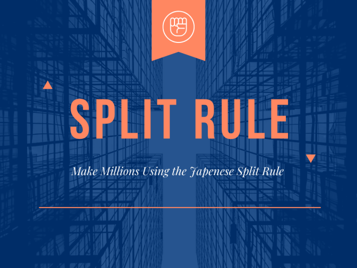 The easiest way to make or raise a million is to use the Japanese split rule... In this rule the Japanese traders believe that it's easier to be pursuing