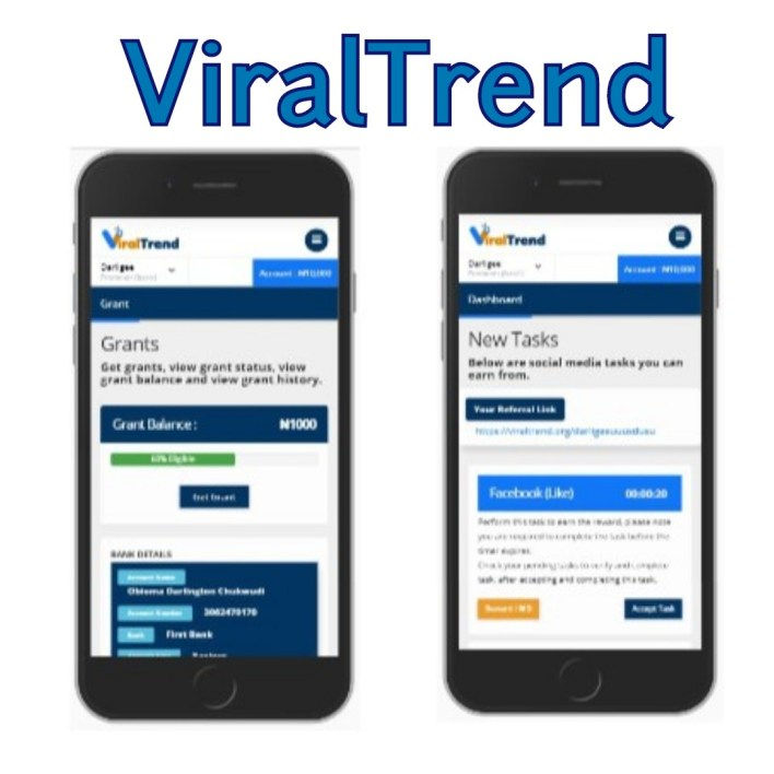 IS VIRALTREND LEGIT OR SCAM? - VIRALTREND REVIEW.   As I always say, I don't post what's not legit on site so as to discourage my fans