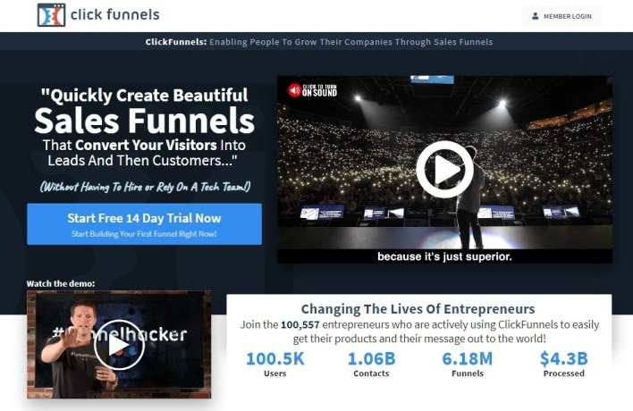 How To Make Money as a ClickFunnels Affiliate in 2020.  Affiliate and niche marketers like you and I are quite familiar with the movie-quality ClickFunnels advertisements