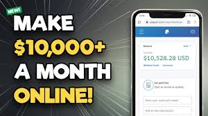 make $10,000 in a month with your mobile phone.  There are lots of ways to make cool money both online and offline across the world. Here is a list of some ways