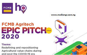 Agritech Epic Pitch and Conference 2020 at FCMB,  First City Monument Bank (FCMB) Limited Hub One is a physical representation of the Bank