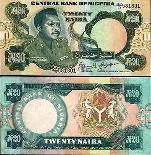 Throwbacks Photos Of Nigeria's Old Currencies.  When the British-men came to colonize Nigeria, pounds sterling, which is the currency being spent in the Great Britain was introduced to Nigeria.
