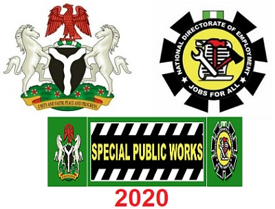 Special Public Works Programme Application Form & How to Apply.   If you are looking out for information concerning Special Public Works Programme 2020 Recruitment