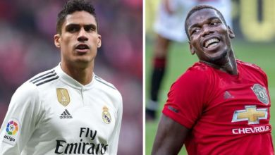 Manchester United open to Varane-Pogba swap deal
